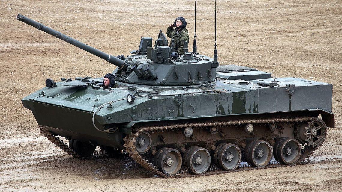Pierwszy desant BMD-4M Sadownica   Konflikty.pl