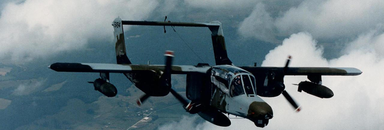 usaf lekkie samoloty bojowe OV-10 Bronco (fot. Boeing)
