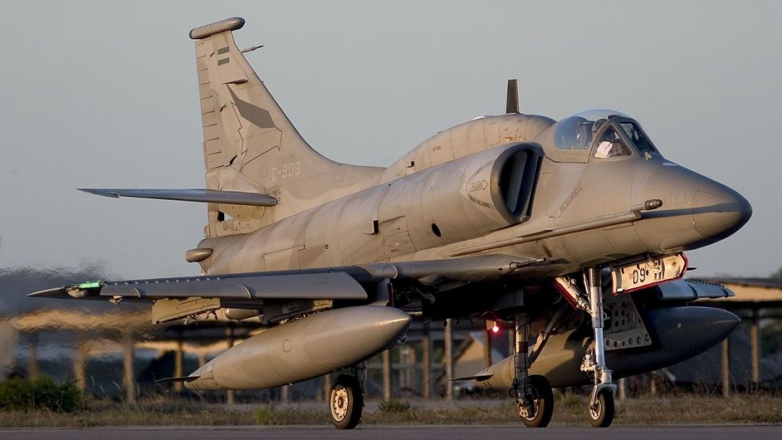 Argentyna rezygnuje z myśliwców
