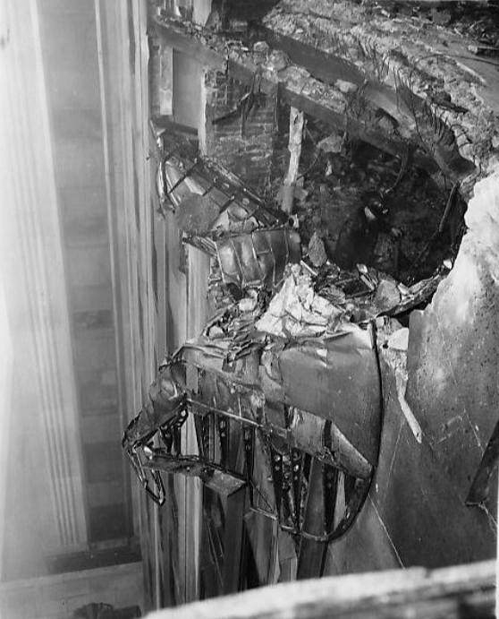 zderzenie bombowiec Empire State Building