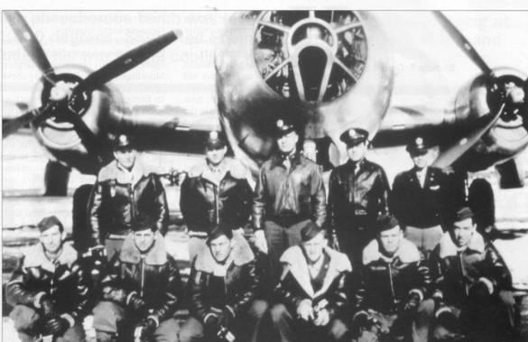 Załoga Simerala (fot. USAAF)