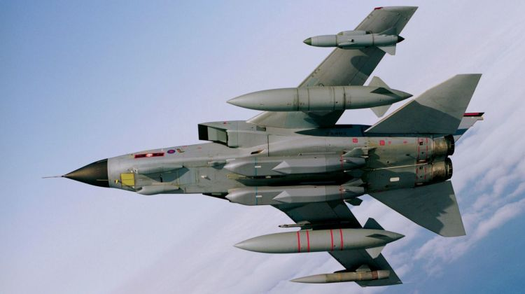 Tornado GR4 Carrying Storm Shadow Missiles