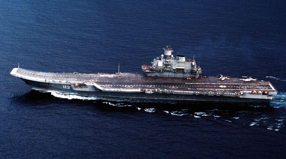 planowany rosyjski lotniskowiec 23000E Sztorm