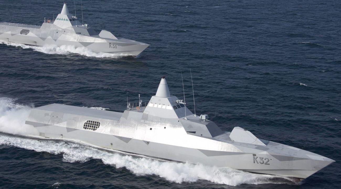 US Navy 2030 Korwety typu Visby, Helsingborg (K32) i Visby (K31)