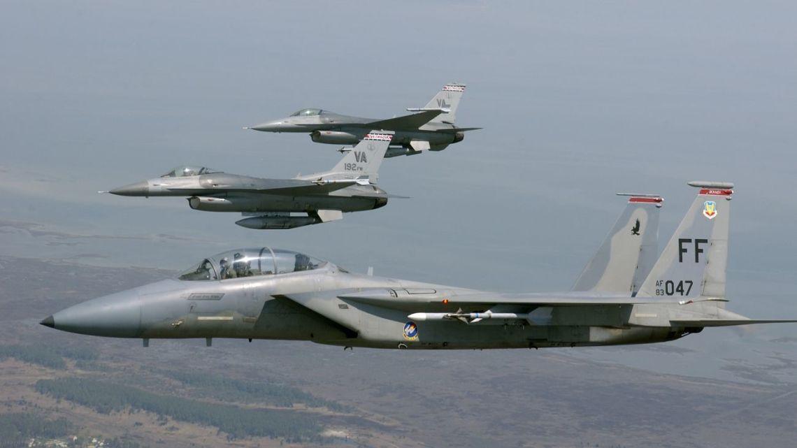 F-16 następca F-15