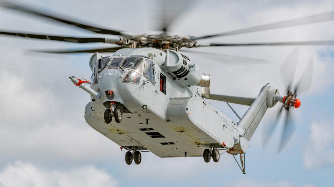 CH-53K najdroższy śmigłowiec na świecie