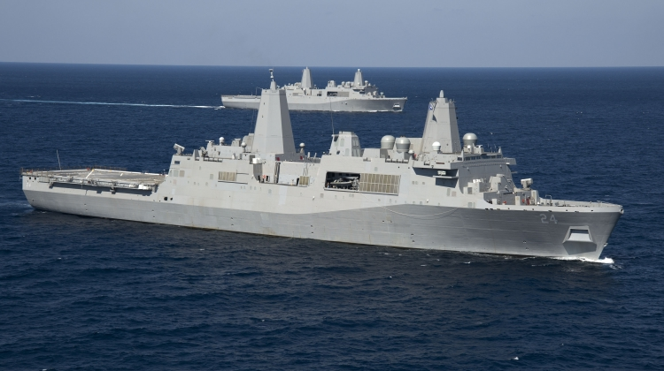 kolejny okręt typu San Antonio