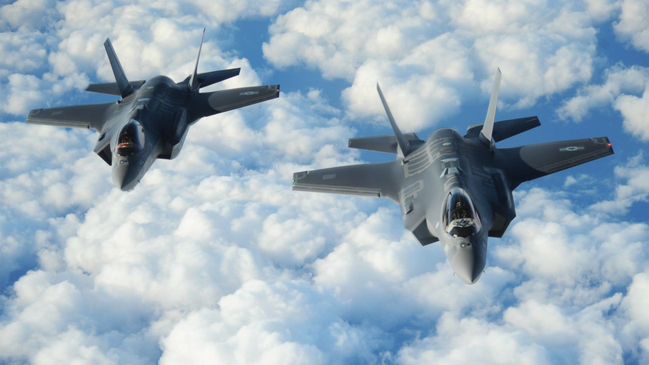 F-35 pierwszy lot bojowy