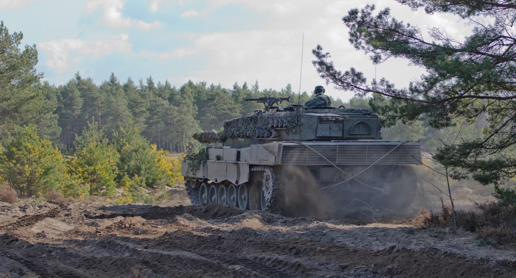 Polski Leopard 2A4 podczas ćwiczeń NATO w Karlikach, marzec 2017 (US Army / Capt. John Strickland)