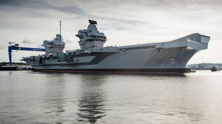 Royal Navy lotniskowce 2017