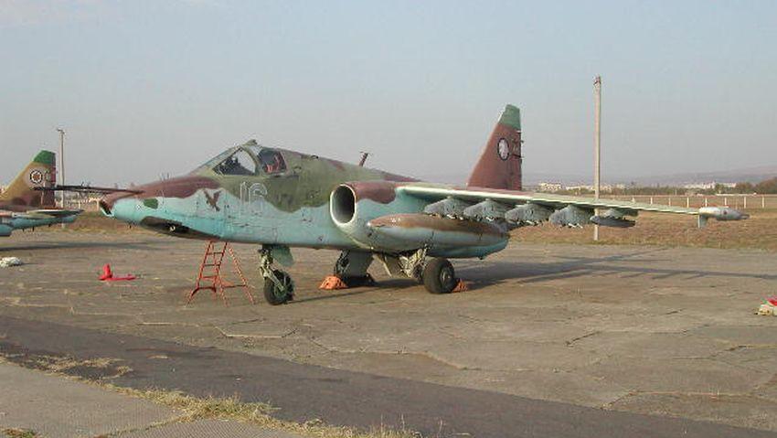 Gruzja Su-25 koniec służby