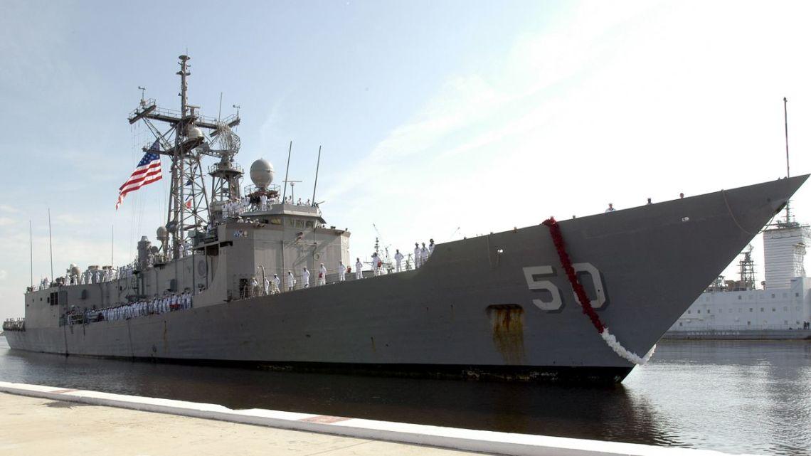 Tajwan używane amerykańskie fregaty