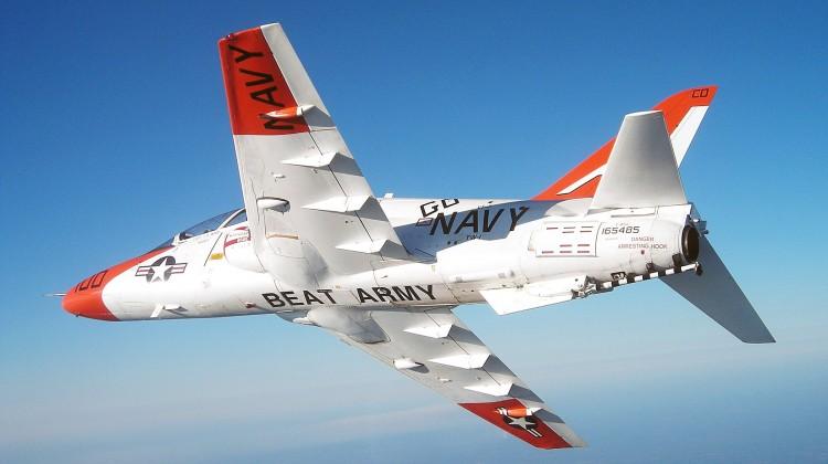 Loty T-45C wstrzymane z powodu strajku instruktorów