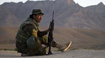 Clearing operations continue in northern Kandahar