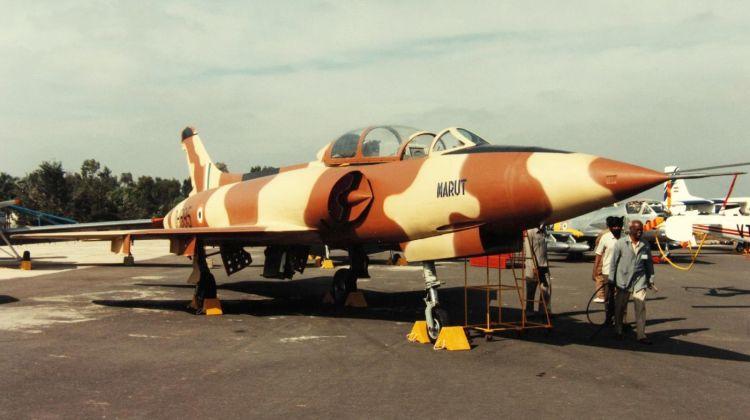 Myśliwiec HF-24 Marut Indyjskie dziecko niemieckiego umysłu