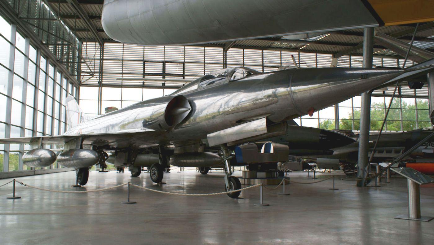 HF-24 Marut w zbiorach Deutsches Museum Flugwerft Schleissheim (fot. Valder137, Creative Commons Attribution 2.0 Generic)