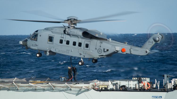 Długie zawieszenie lotów CH-148 Cyclone