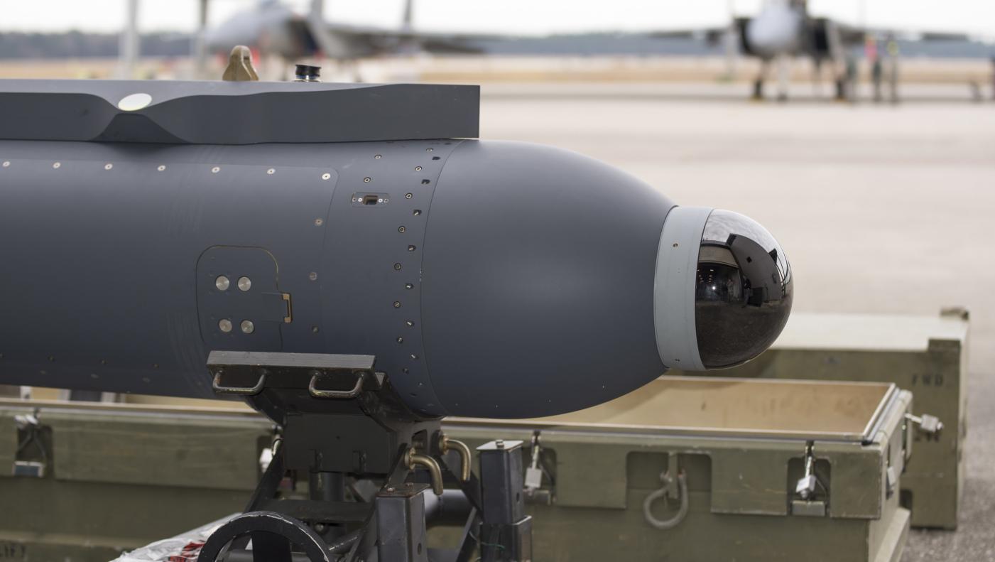 Zasobnik termolokacyjny Legion, przeznaczony dla F-15 i F-16 (Lockheed Martin)