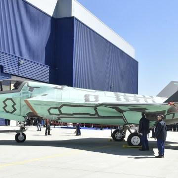 Lockheed Martin F-35B Cameri