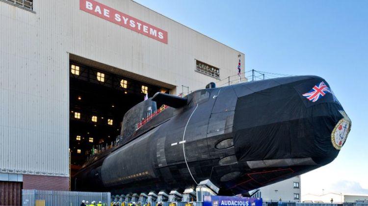 Wodowanie HMS Audacious | Konflikty.pl