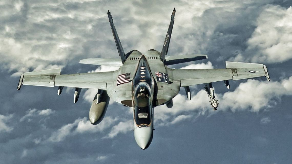 Super Hornet zestrzelił Su-22 Syrii | Konflikty.pl