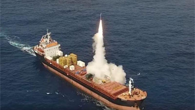 Izrael przetestował morski pocisk balistyczny LORA