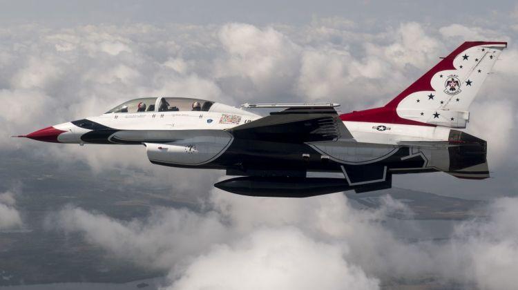 wypadek F-16 Thunderbirds | Konflikty.pl