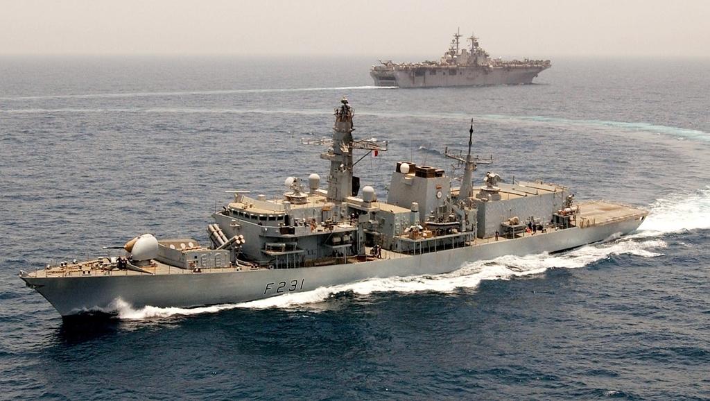 HMS Argyll (F231), najstarsza w Royal Navy fregata typu 23, która po modernizacji ma służyć do 2023 roku (MoD / Crown copyright 2004)