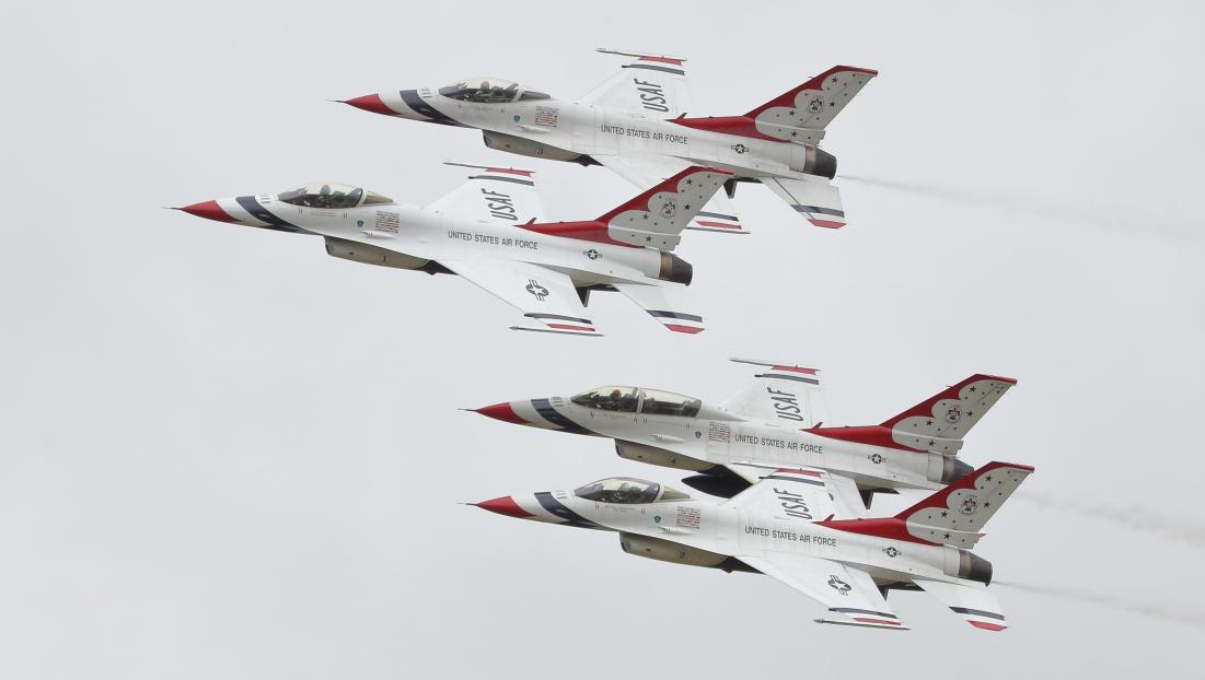 Thunderbirds RIAT 2017