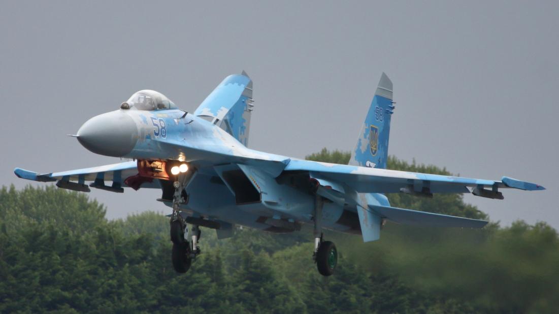 Su-27 RIAT 2017