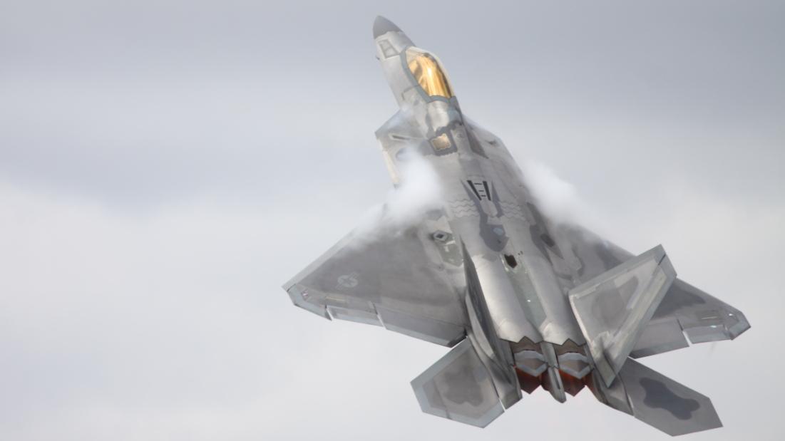 F-22 Raptor RIAT 2017