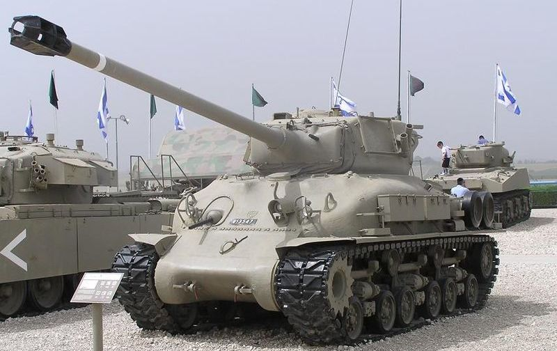 "M51 ""ISherman"" (fot. נחמן, Creative Commons Attribution-Share Alike 3.0 Unported)"