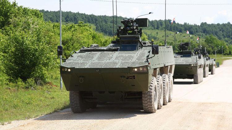 Chorwaci przetestowali pierwszy zsmu UT30 Mk2