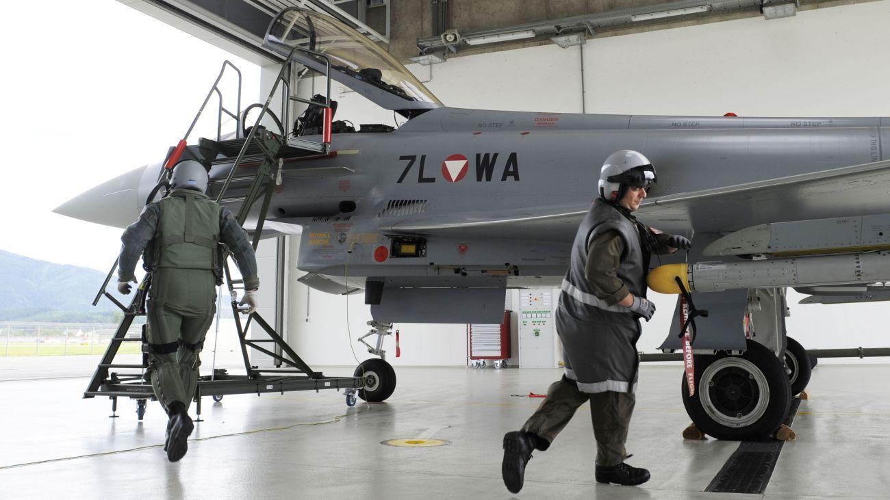 Austria wycofuje Typhoony ze służby | Konflikty.pl (fot. Geoffrey Lee, Planefocus Ltd / Eurofighter Jagdflugzeug GmbH)
