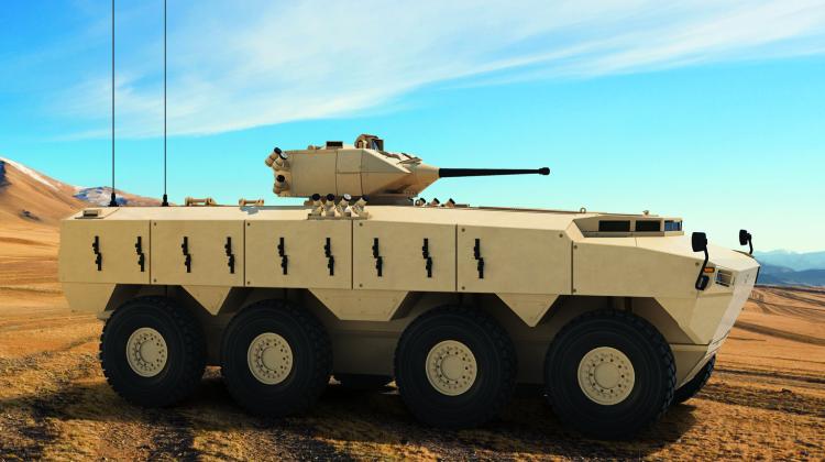 Pojazdy opancerzone Pars III dla Omanu   Konflikty.pl