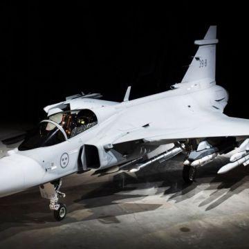 Samolot wielozadaniowy JAS 39E Gripen   Konflikty.pl
