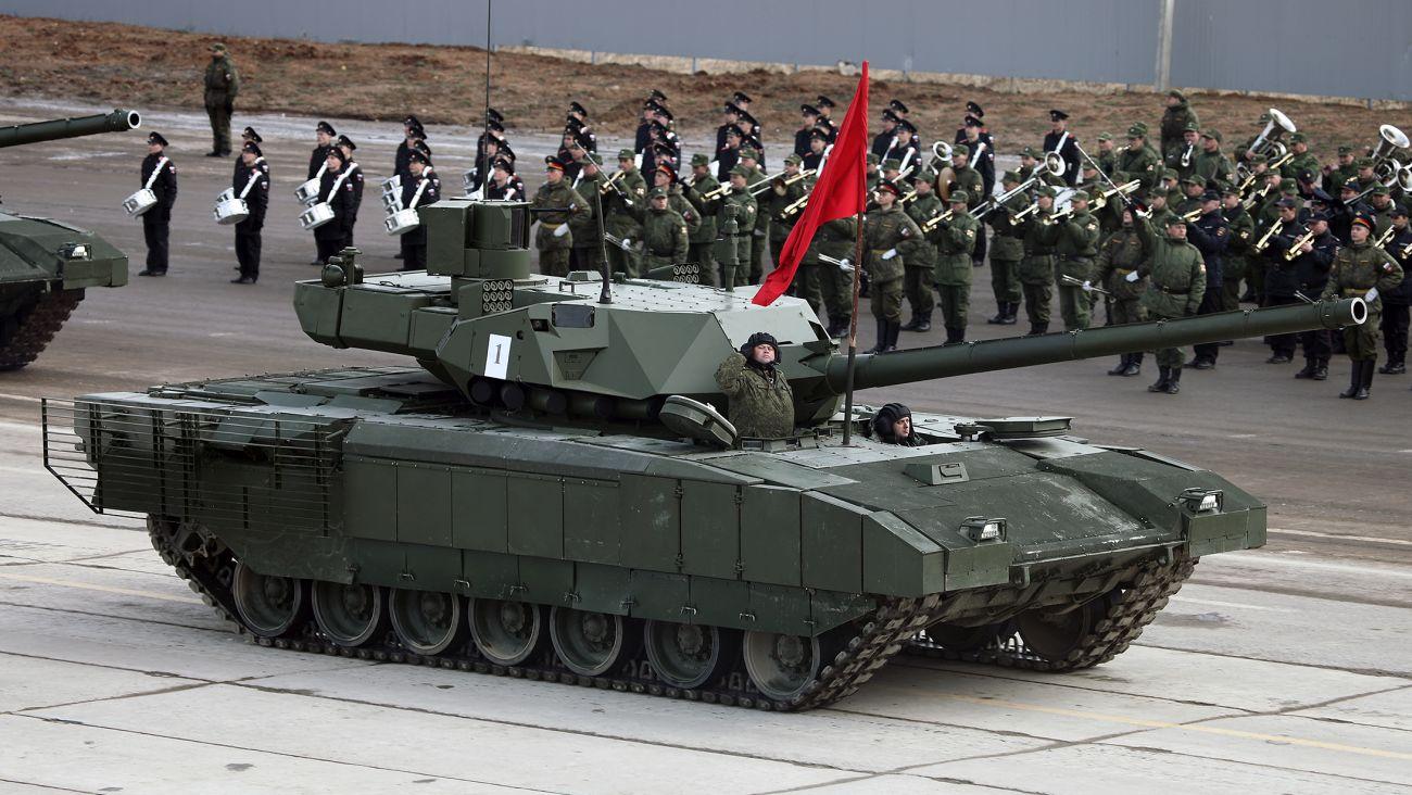 T-14 Armata (Vitaly V. Kuzmin, Creative Commons Attribution-Share Alike 3.0 Unported)