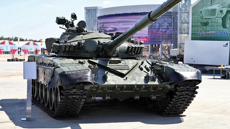Ukraińcy zaprezentowali czołg T-72AMT | Konflikty.pl