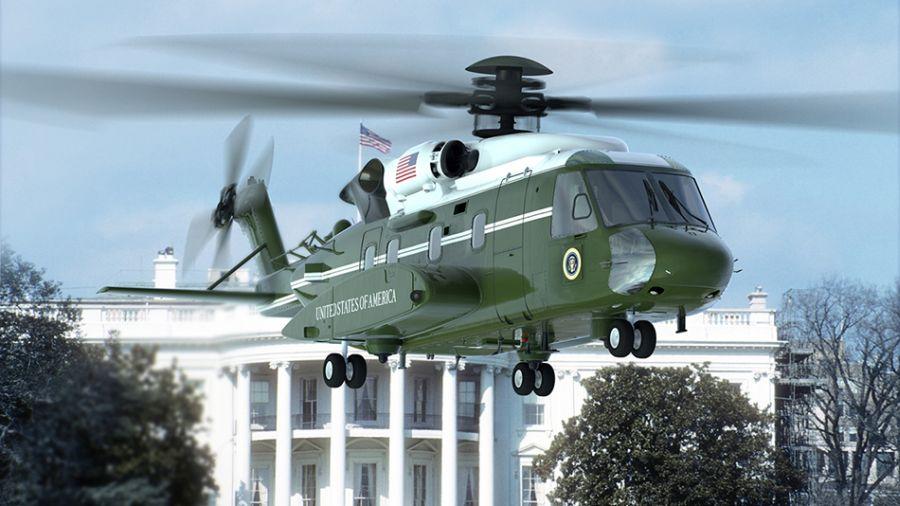 VH-92A – nowy śmigłowiec prezydenta USA – odbył pierwszy lot | Konflikty.pl