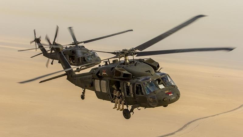 Zderzenie Black Hawka z dronem nad Nowym Jorkiem | Konflikty.pl