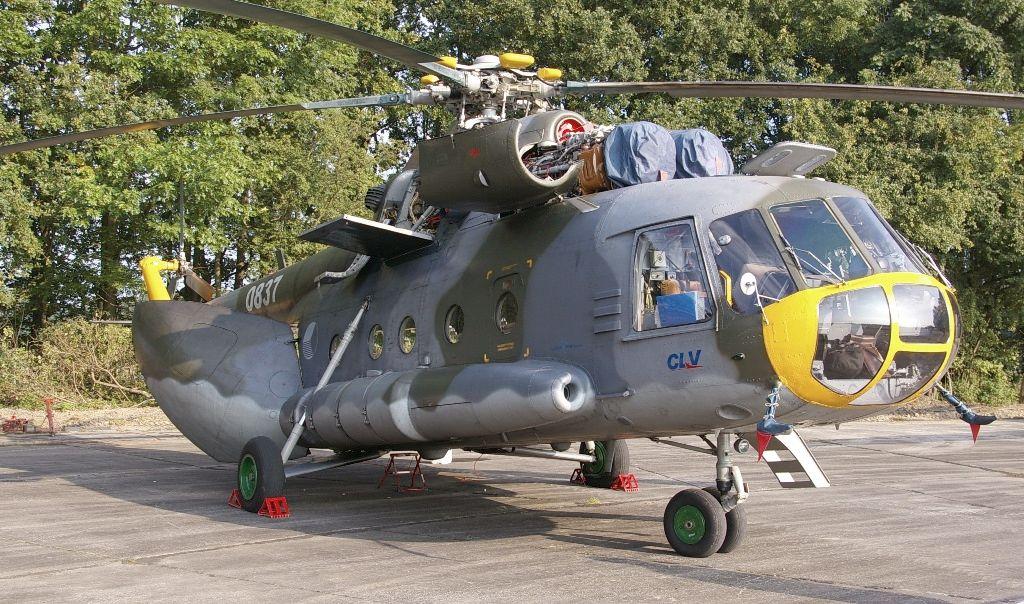 Mi-17 (fot. Maciej Hypś, Konflikty.pl)