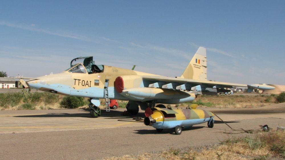 Wojska lotnicze Czadu mają zespół pokazowy na Su-25 – Tygrysy Czadu | Konflikty.pl