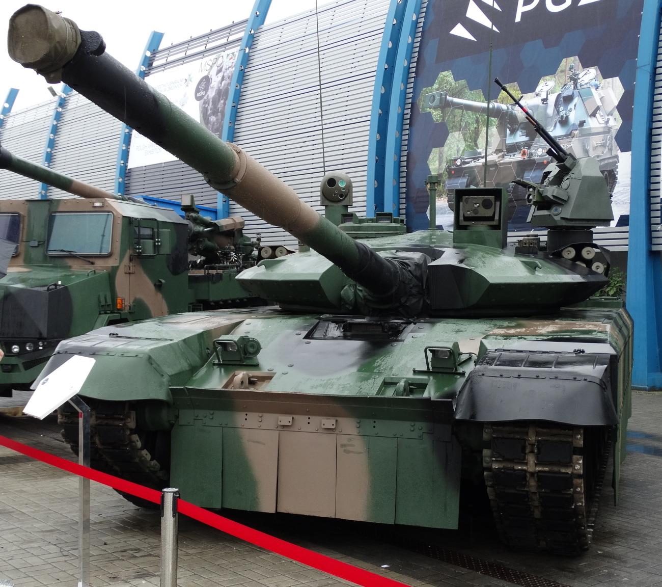 Demonstrator czołgu PT-17