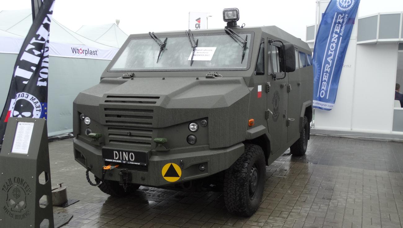 Lekki Taktyczny Pojazd Wielozadaniowy 319 Dino