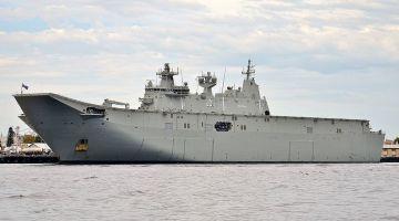 HMAS_Adelaide_(L01),_Fremantle,_2017_(02)