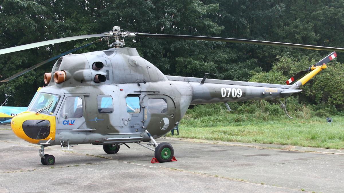 Mi-2 (fot. Łukasz Golowanow, Konflikty.pl)
