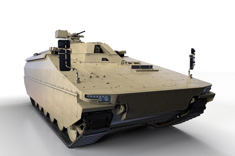 bwp Lynx w wariancie gąsienicowego transportera opancerzonego