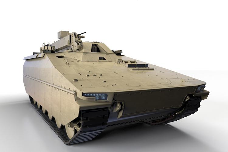 Możliwa konfiguracja bwp Lynx w roli wozu zabezpieczenia technicznego