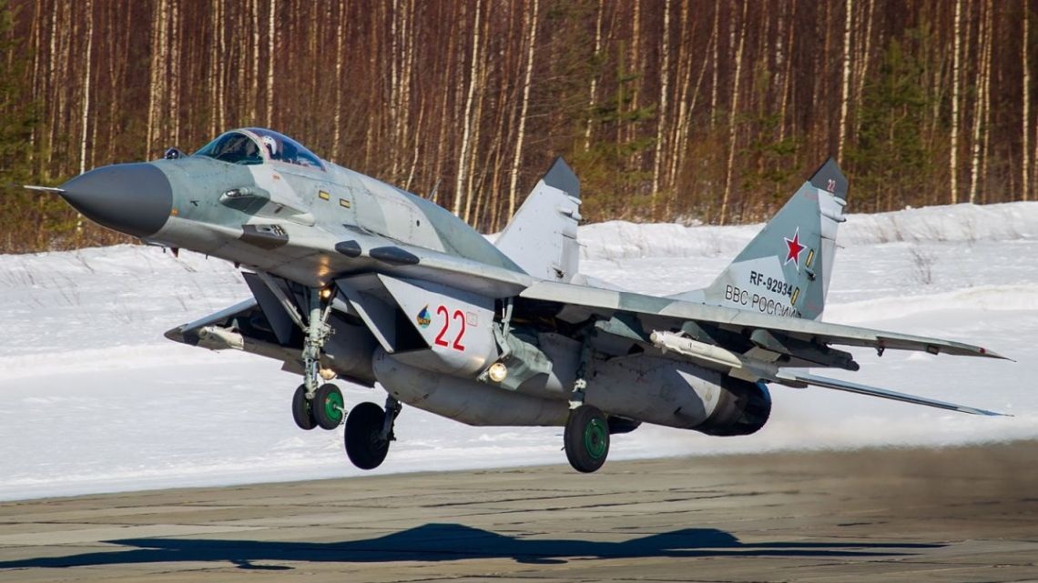 MiG-29SMT Syria | Konflikty.pl