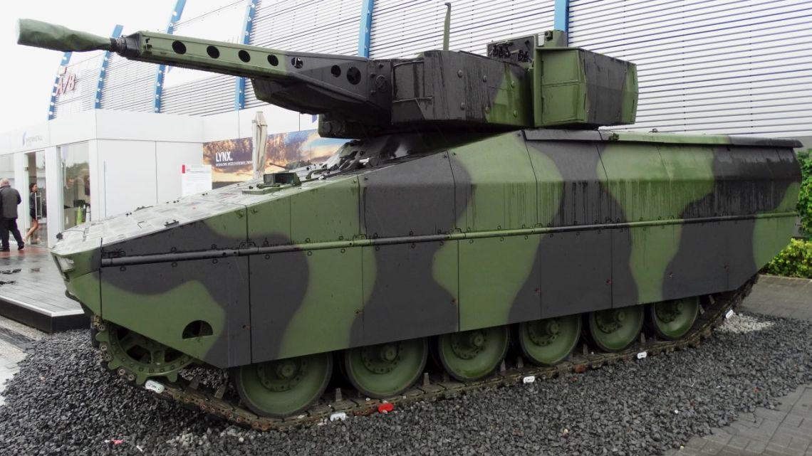 MSPO: Polska premiera bwp Lynx